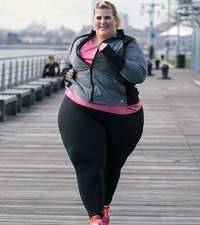Marca fitness dá melhor resposta a internauta gordofóbico que ofendeu modelo gorda