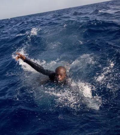 Imagens chocantes retratam descaso com refugiados deixados para morrer no mar