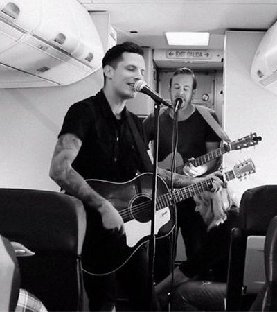 Billboard e Warner se unem para promover pocket shows em aviões