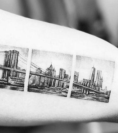 20 ideias super originais de tattoos para quem ama viajar