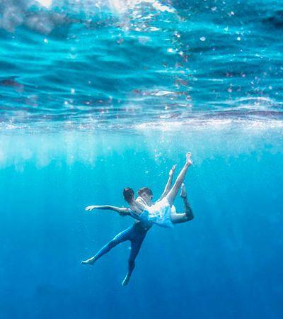 As poéticas bailarinas submersas de Adolfo Maciocco