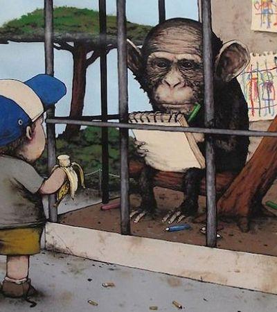 Estas ilustrações do 'Banksy francês' são um dedo nas principais feridas da nossa sociedade atual