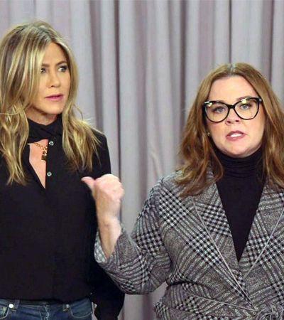 Jennifer Aniston e Melissa McCarthy criam vídeo especial para quem não acredita na ciência