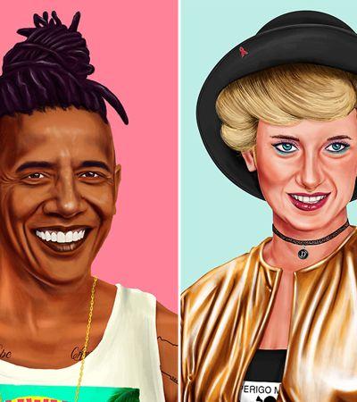 Transformaram os líderes mundiais em hipsters como todos nós