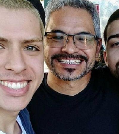 Pai posta foto do filho com o namorado e dá exemplo de luta contra a homofobia em casa