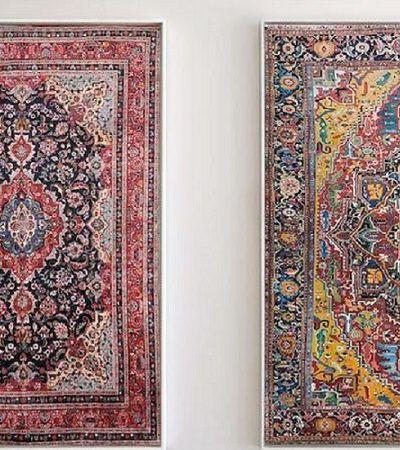 Ele cria quadros tão detalhados que mais se parecem tapeçarias reais