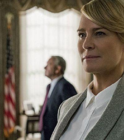 House of Cards terá última temporada sem Kevin Spacey e com Robin Wright como protagonista