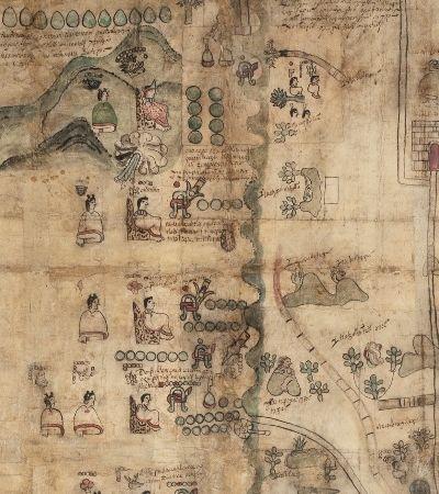 Mapa raro dá mais pistas de como funcionava a civilização asteca