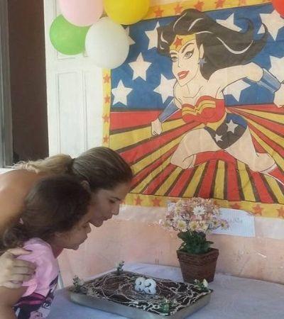 Filha usa mesada para dar festa surpresa para mãe que a criou sozinha
