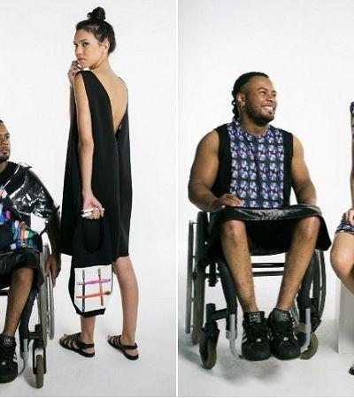 Estilista brasileira cria roupas ultra inclusivas inspiradas em resíduos plásticos