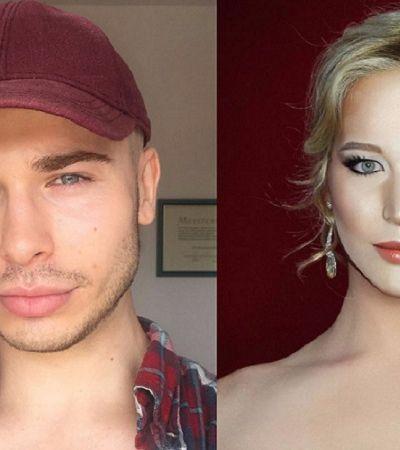 Esta drag consegue se transformar em qualquer celebridade usando só maquiagem