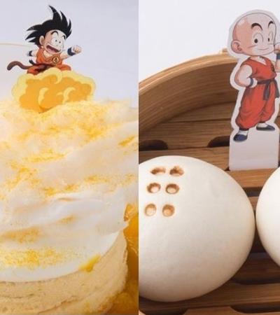 O cardápio deste restaurante japonês é todo inspirado em personagens de Dragon Ball Z