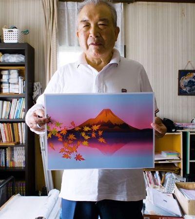 Este senhor de 77 anos cria desenhos inacreditáveis usando apenas o Excel