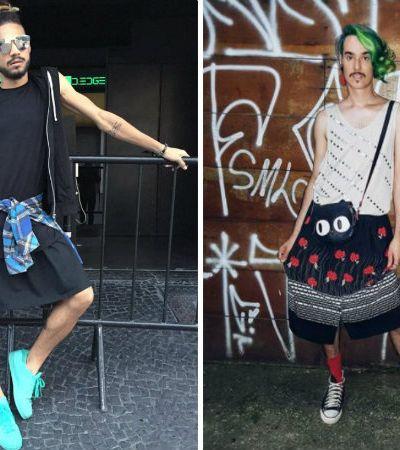 Homens de saia derrubam tabus, questionam padrões e reforçam que roupa não tem gênero