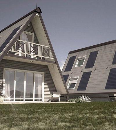 Ele criou uma casa dobrável que pode ser construída em apenas  6 horas