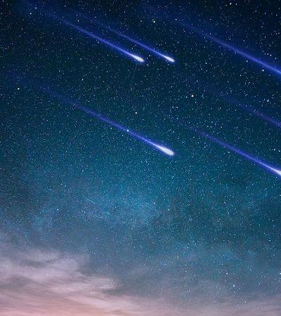 Última chuva de meteoros do ano poderá ser vista nesta madrugada em todo o Brasil