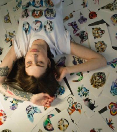 Como Sasha Unisex transformou suas tattoos em sonho de consumo no mundo todo