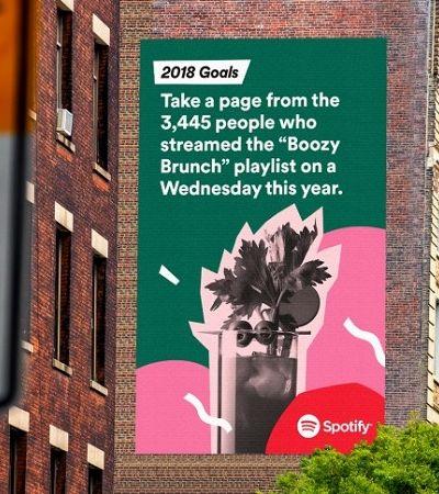 Spotify expõe (novamente) hábitos divertidos de usuários em campanha de fim de ano