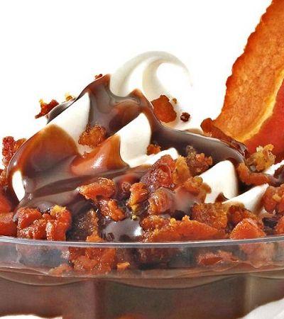 Burger King lança sundae de bacon em todas as unidades do Brasil