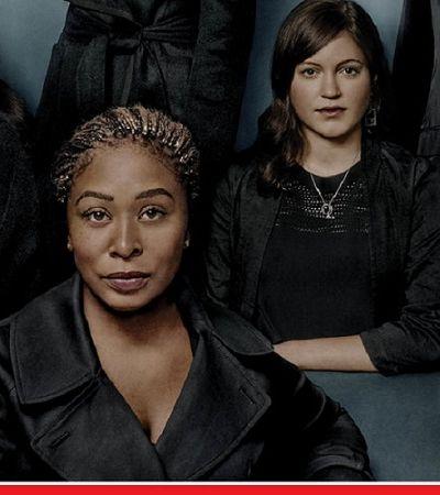 Há um detalhe escondido na capa da revista Time que representa muitas mulheres vítimas de abuso