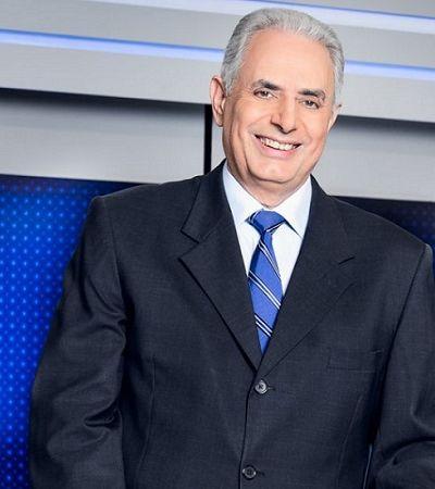 Silvio Santos abre as portas do SBT para William Waack, afastado da Globo por insultos racistas