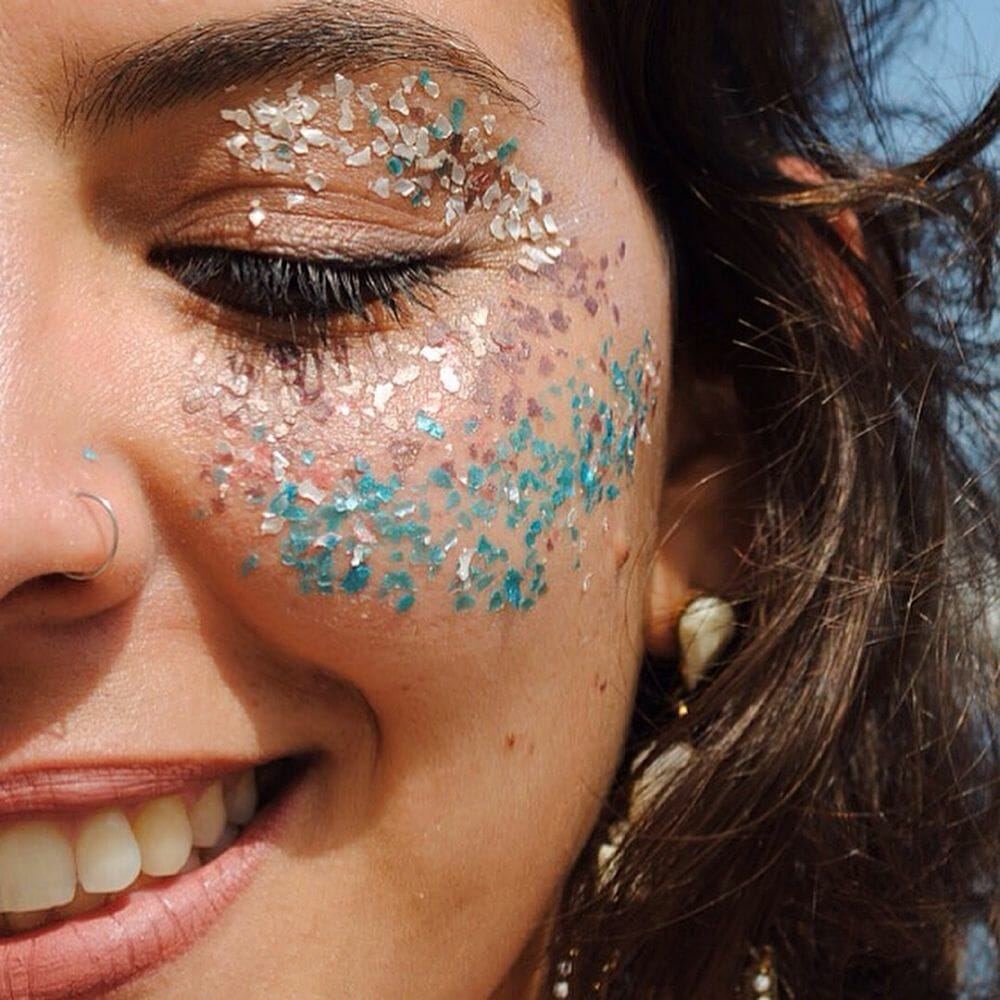 Glitter para sereiar sem poluir