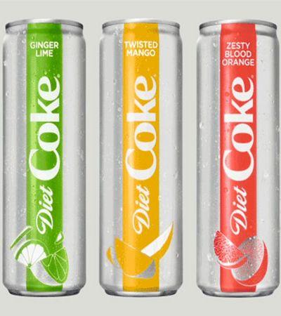 Contra queda nas vendas, Coca-Cola cria sabores, muda design e traz de volta linha Diet