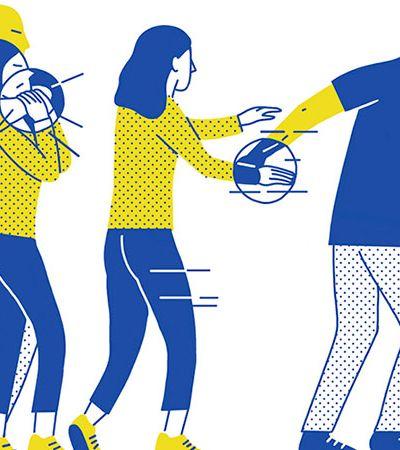 Artistas criam manual de autodefesa feminista ilustrado