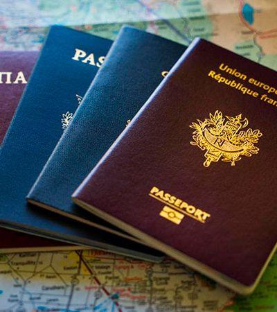 Afinal, por que só existem 4 cores de passaportes?