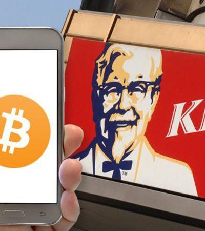 Bitcoin passa a ser aceito em lojas KFC do Canadá