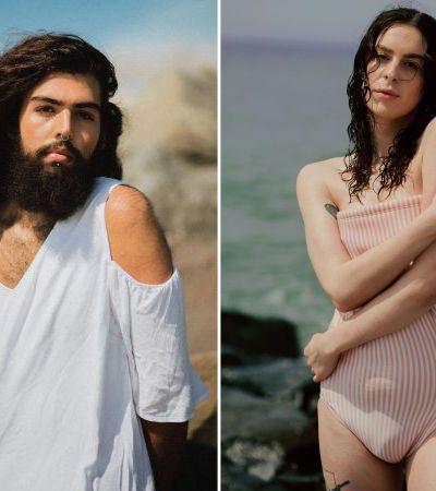 Série fotográfica retrata a luta de pessoas trans para se sentirem à vontade na praia
