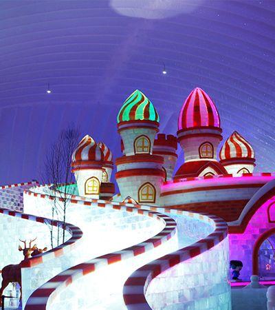 Veja o melhor das incríveis esculturas de neve e gelo do Festival de Harbin, na China