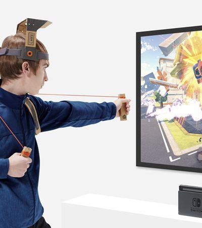 Conheça o Nintendo Labo, os acessórios para videogame feitos de papelão