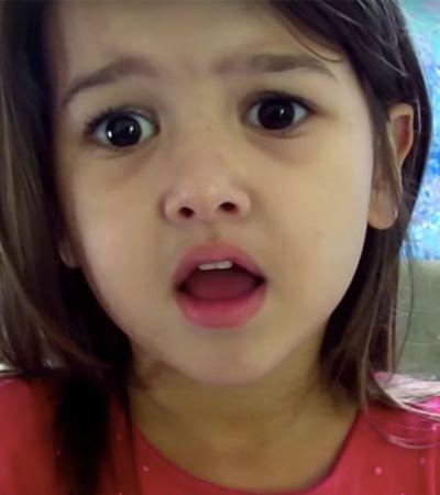 'Tenho pena dos animais': Youtuber de 5 anos explica porque parou de comer carne