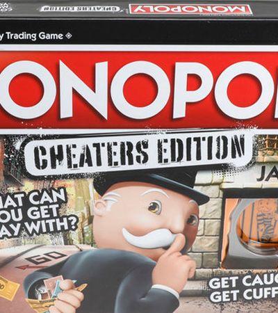 Ideal para trapaceiros: Banco Imobiliário lança edição especial para quem 'rouba' no jogo