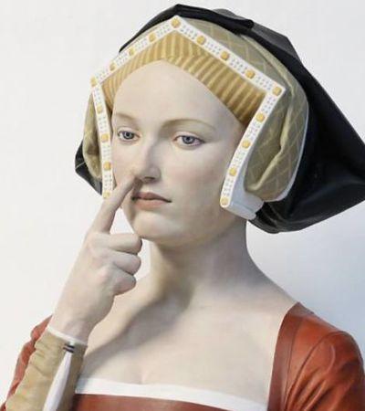 Estas lindas esculturas de mármore unem atualidade e arte Renascentista