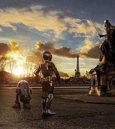 Fotógrafo mostra como seria se Star Warsacontecesse no nosso mundo atual