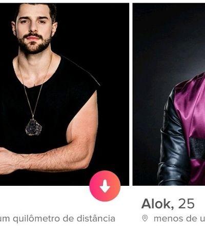 DJ Alok está disponível no Tinder, mas só para divulgar seu novo clipe
