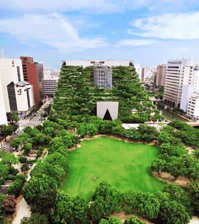 Seleção Hypeness: 15 surpreendentes áreas verdes criadas pra revitalizar centros urbanos