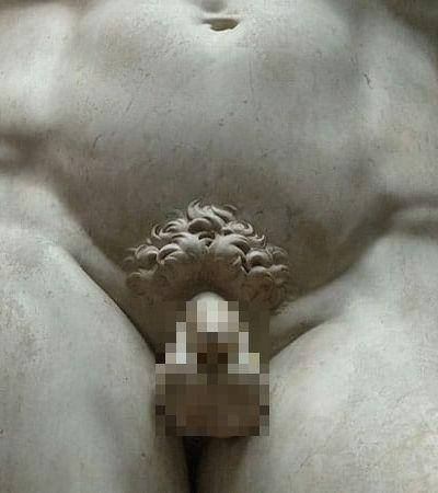 Este é o motivo de as esculturas gregas terem pênis pequenos