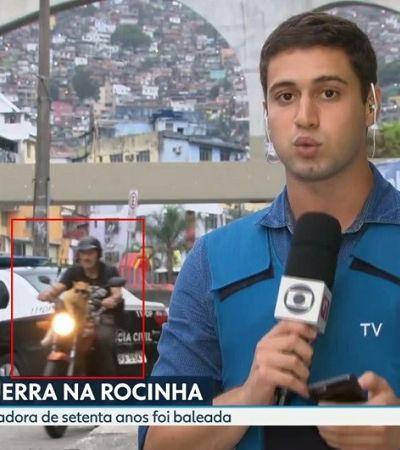 Gato que 'invadiu' link da Globo com óculos escuros ajudou tutor a largar as drogas