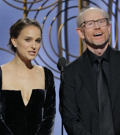 'Todos os homens indicados': Natalie Portman usa Globo de Ouro para falar de representatividade