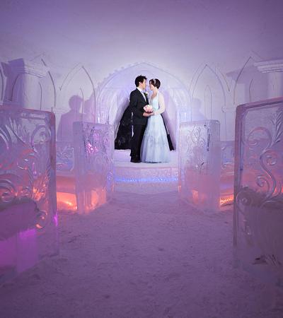Com temperatura ambiente de -5ºC, hotel de gelo de 'Game of Thrones' é inaugurado na Finlândia
