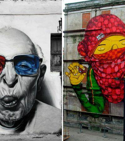 Seleção Hypeness: 35 incríveis murais grafitados pelo mundo