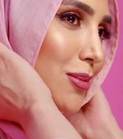 Amena Khan, a primeira modelo de hijab a estrelar uma campanha da Loreal