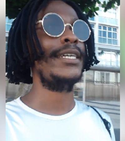 'Vocês querem dinheiro? Trabalhem!': Gari rapper, Jota Jr. dá lição após ser roubado no RJ