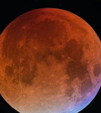 Janeiro terá noite com Superlua, Lua Azul e Lua de Sangue. E tudo ao mesmo tempo