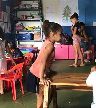 Ex-catadora de lixo transforma a própria casa em creche para cuidar das crianças do bairro