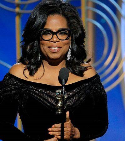 'Hora de mulheres falarem e homens ouvirem': O discurso histórico de Oprah Winfrey contra machismo no Globo de Ouro