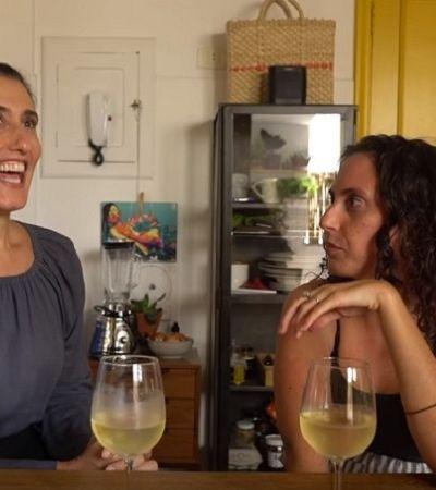 Paola Carosella fala sobre drama no nascimento da filha: 'tive cesárea sem anestesia'